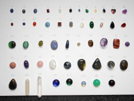 My gemstones, which one do you like? by seralune