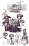 MTL: Sketches and Study by hanime87