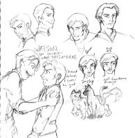 SH: Character Sketches by pedal