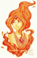 Flame Princess by HazuraSinner