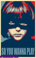 HIT GIRL HOPE POSTER by Darkness-Man