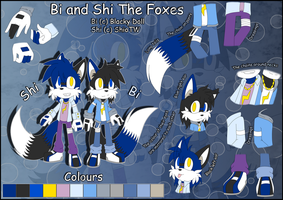 .:Brothers BiShi Reference:. by Blacky-Doll