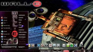 Wall-E windows seven theme by nofx1994