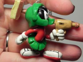Marvin The Martian, Looney Tunes Inspired, Hand S by Secretvixen