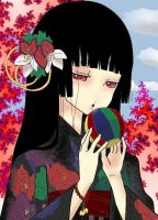 Enma Ai from Hell girl by Erentry