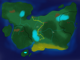The Great Land of Galia by RavensGrrl