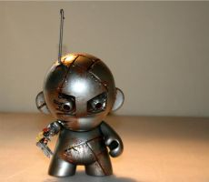 Remote Controlled Munny by MattAcustoms
