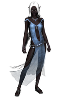 drow lady7 - stock by Umrae-Thara