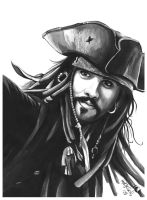 jack sparrow by makintochi