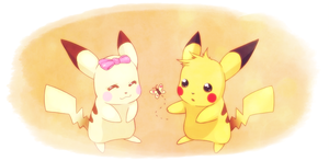 Pikachu Friendship by YukiHyo