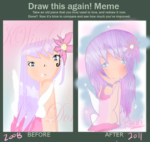 before and after by PinkiPockets