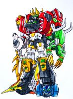 FRIGID ULTRAZORD by kishiaku