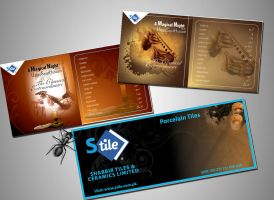 stilt tile cd cover n branding by hussani