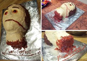 Severed Head Cake by silentorchid