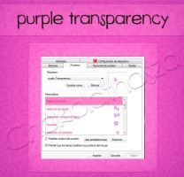 cursor purple transparency by Chokolathosza