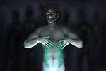 Neon on my naked skin by R-r-ricko