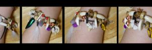 The Collector - Charm Bracelet - Turnaround by Shamans-Yoik
