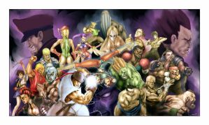 Street Fighter 4 - Fan Piece by DarrenGeers