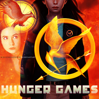 10 of '10 - The Hunger Games by survivekaleidoscope