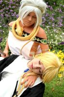 Sphintus Carmen and Titus [Magi] by Inukashix3