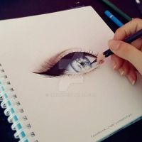 Eye WIP by Laaury