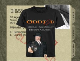 T for Tees: Oddjob by sdws