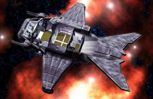 Minnow Shuttle 05 by MADMANMIKE