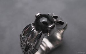 Dragon claw ring by Dans-Magic