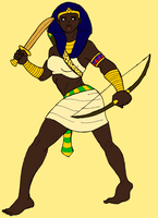 Pharaoh Asehotep of Kametu by BrandonSPilcher