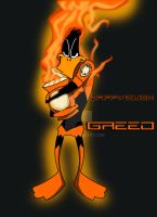 Daffy Duck- Orange Lantern by hoiist