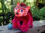 Cyrolie  Fantasy Bear Plush  SOLD by SonsationalCreations