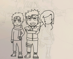 Making some lineart :D by DemonfoxKnight