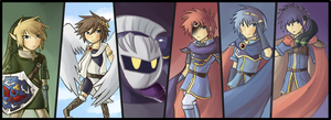 ALL DEM SWORDZMENZ by chienoir