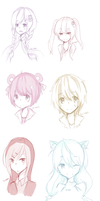 Sketch Requests 11.28.13  by Lu-tan