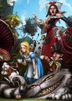 Alice in Wonderland by Mr--Jack