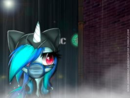 .:I forgot umbrella:. by Gamermac