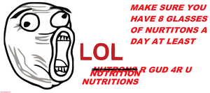Nutrition is Good by MamiTeaMamiCake