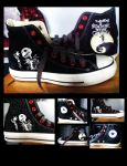 The Nightmare Before Christmas Converse by KIRA009