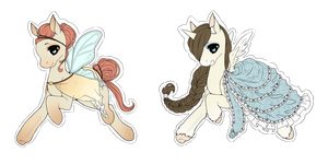 Pony Adoptables [CLOSED] by XAngelFeatherX