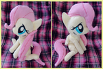.: Filly Fluttershy Plush :. by Fallenpeach