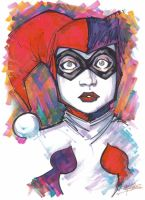 Marker : Harley Quinn by KidNotorious