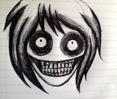 Jeff the killer sketch by Lace-Agate