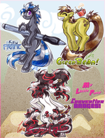 Pony-Badge: Examples! by carnival