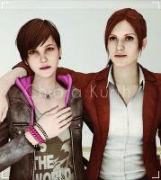 Claire and Moira by mk-re55