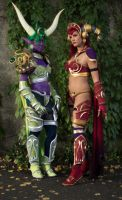 Alexstraza and Ysera - WoW by SweetLuminia