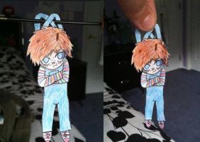 Chucky Paper Doll by TheRealTDAGeena