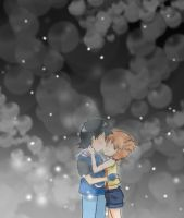Ash x Misty by CariAguilar
