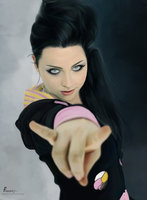 Amy Lee of Evanescence by fawwaz1