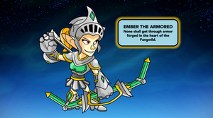Ember the Armored by TrippyToad