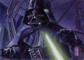 Vader Defeated by DavidRabbitte